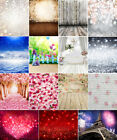Dreamy Heart Valentines Day Backdrops Glitter Baby Photography Background Props