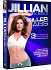 DVD Exercise  Fitness Jillian Michaels Killer Abs 3 30 Minute Workouts