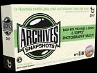 2017 Topps Archives Snapshots Baseball EXCLUSIVE Factory Sealed Box- AUTO JUDGE?
