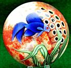 LARGE Spectacular ORIENT & FLUME Blue Beta FISH Aquarium ART Glass PAPERWEIGHT