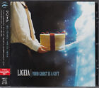 LIGEIA / YOUR GHOST IS A GIFT JAPAN CD OOP W/OBI