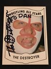 1982 Wrestling All Stars Series A and B Trading Cards 8