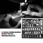 52PCS Sewing Machine Presser Foot Feet for Brother Singer Toyota Janome Juki