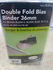 BABYLOCK SERGER SASHIKO DOUBLE FOLD BIAS BINDER 36MM FOOT AUTHENTIC NEW