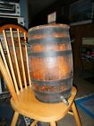Antique Oak Slat Barrel with original spout