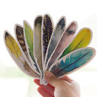 30 Pcs lot Colorful Bookmark Feather Bookmark Paper Cartoon Animals Gift Healthy