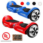 CHIC UL 2272 45 Self Balancing 2 Wheel Electric Scooter Hoverboard LED Light V