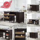 Foldable Sewing Table Craft Hobby Work Desk Cabinet Storage Sew Machine Armoire