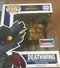 Funko POP Asia Exclusive GAME WORLD OF WARCRAFT DEATHWING Gold Ver Vinyl Figure