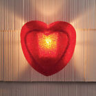 Red Heart Porch Patio Light Cover Sentimental Gift Outdoor Home Lighting Accent