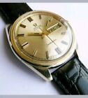 Omega Seamaster German Gold tone with black strap 752 cal