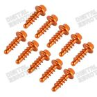 NiceCNC Anodized Alu. Fairing Bolt Tapping Screw for KTM All Universal Dirt Bike