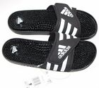 ADIDAS ADISSAGE MASSAGE WOMENS BLACK SLIDES SANDALS NEW WITH TAGS SIZE 7 8 9