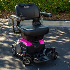 Pride Mobility GO CHAIR Travel Electric Powerchair Used + 18 AH New Batteries