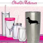 Dachshund Style 1 3 DECAL STICKER Yeti RticTumbler CHOOSE COLOR
