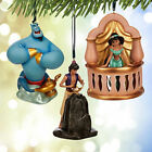 DISNEY EXCLUSIVE LTD 1000 WORLDWIDE ART OF JASMINE ORNAMENT SET NIB AWESOME