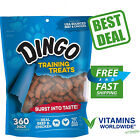 DINGO SOFT  CHEWY Training Treats For Dogs Food Snack Real Beef  Chicken 360pc