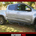 15 21 Fit Chevy Colorado Canyon Crew Cab BLACK Side Step Nerf Bar Running Board