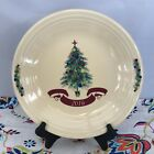 Fiestaware Christmas Tree Dinner Plate Fiesta 2016 Claret Holiday Plate NWT