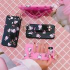 Cute Hello Kitty Bracelet Ring Holder Stand Case Cover for iPhone X 6S 7 8 Plus