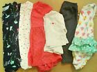 Lot of 6 Carters Baby Girl Assorted Clothing Size 9 months