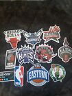 NBA Decal Stickers Basketball Team Logos Licensed Complete Set of All 30 Teams