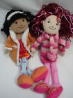 Sweet PAIR Full Size 13 Groovy Girls Plush Dolls with Clothes