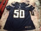 New women's Nike Manti Te'o Los Angeles SD Chargers Footballl Jersey ret$145 Med