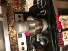 wolfgang puck commercial grade  bistro stand mixer with three attachments