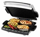 Next Generation Grill with Nonstick Removable Plates Silver Countertop Grill