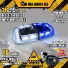 36 Led Light Bar Top Oval Magnetic Flashing Hazard Roof Emergency Strobe Warning
