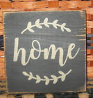 PRIMITIVE  COUNTRY  HOME  mini  sq   SIGN