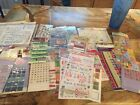 Kids Rub On Transfers And Stickers Lot 30 Of Many New And Opened