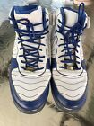 Jordan 115 Blue  White High Top Basketball Active Sneakers Tennis Shoes Nike