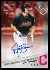 2017 TOPPS NOW 607 JAY BRUCE AUTO WALK OFF DOUBLE WIN STREAK TO 22 INDIANS 3 10