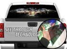 P323 American Flag Eagle Rear Window Tint Graphic Decal Wrap Back Pickup