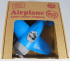 New in box Green Toys AIRA1028 airplane blue top  red base Made in USA for 1+