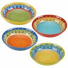 Certified International Valencia 9.25-inch Soup/Pasta Bowls Set of 4 Assorted