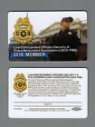 2018 MEMBER LAW ENFORCEMENT OFFICERS SECURITY PBA CARD
