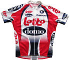 LOTTO DOMO EDDY MERCKX Cycling Jersey Retro Road Pro Clothing MTB Short Sleeve
