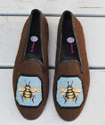 By Paige Bee on Brown size 105 Needlepoint Loafers NEW