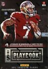 2013 Panini Playbook Football Factory Sealed Hobby Box 2-3 Autos and Books