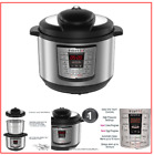 LUX80 8 Qt 6in1 Multi Use Programmable Pressure Cooker Slow Cook