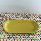 Fiestaware Sunflower Relish Tray Fiesta Yellow Retired Corn on the Cob Tray NWT