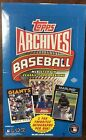2012 Topps Archives Factory Sealed Hobby Baseball Box 2 Auto's Per Box