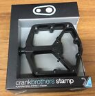 2018 CRANK BROTHERS Stamp Large 2 Pedals Black
