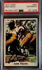 1975 TOPPS #367 DAN FOUTS SIGNED ROOKIE CARD PSA DNA AUTOGRAPH RC AUTO CENTERED!