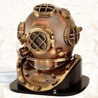 Brass Sea Marine Scuba Diving Divers Helmet US Navy Mark V Solid Brass 18