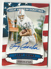 Larry Csonka 2016 Rookies & Stars Great American Signatures Autograph Card 5 5