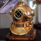 Marine Sea Scuba Navy Style Replica Polished Brass and Copper Diving Helmet Gift